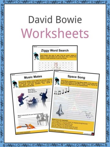 David Bowie Worksheets