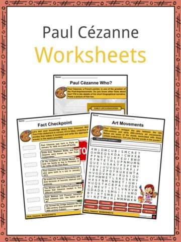 Paul Cezanne Worksheets