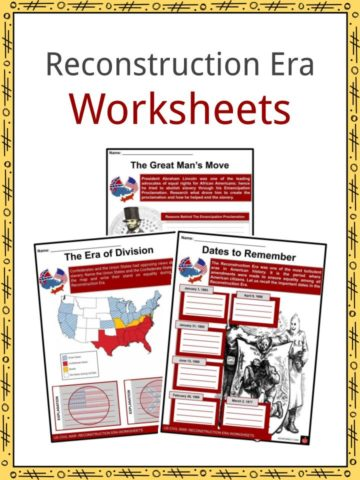 Reconstruction Era Worksheets