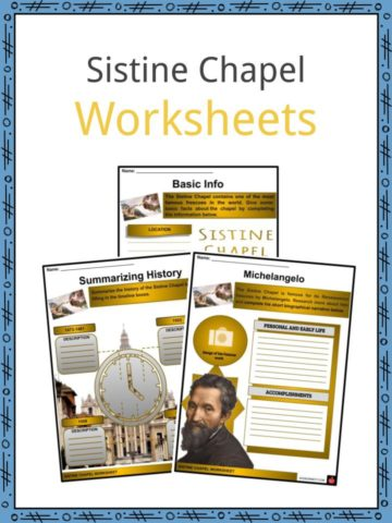 Sistine Chapel Worksheets