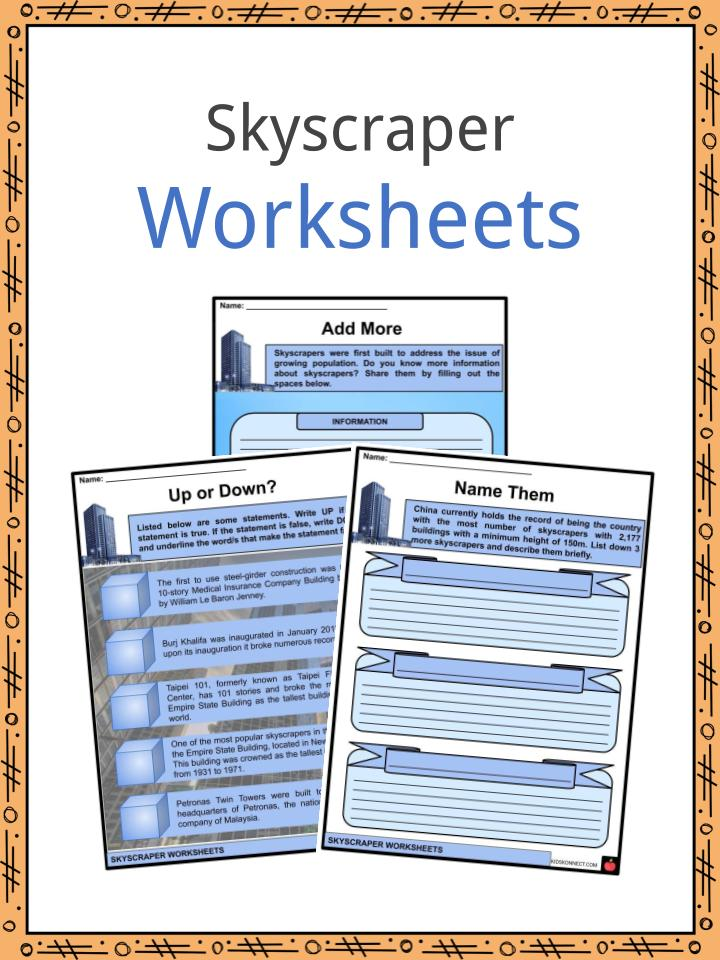 Skyscraper Worksheets