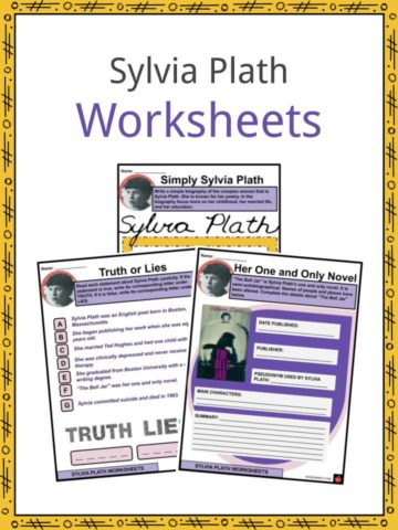 Sylvia Plath Worksheets