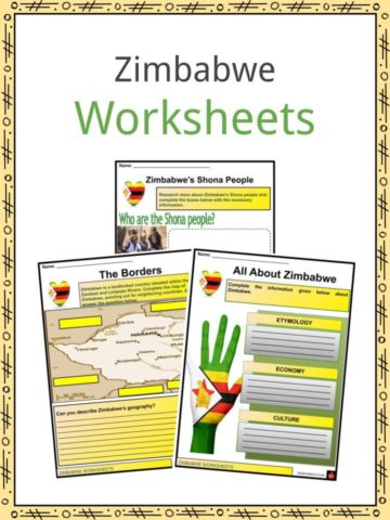 Zimbabwe Worksheets