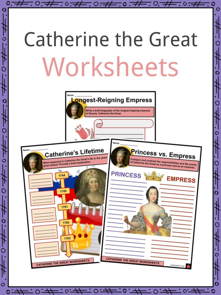 Catherine the Great Worksheets