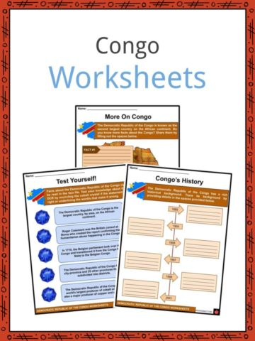 Congo Worksheets