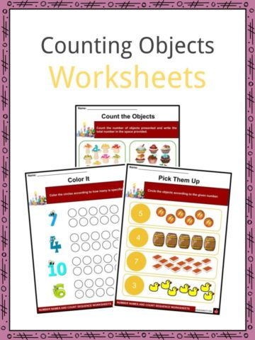 Counting Objects Worksheets