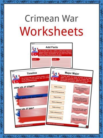 Crimean War Worksheets