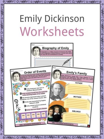 Emily Dickinson Worksheets