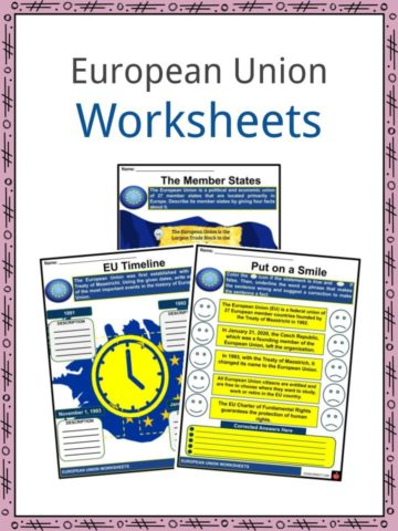 European Union Worksheets