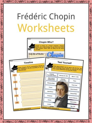 Frédéric Chopin Worksheets