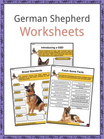 German Shepherd Worksheets