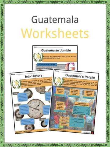 Guatemala Worksheets