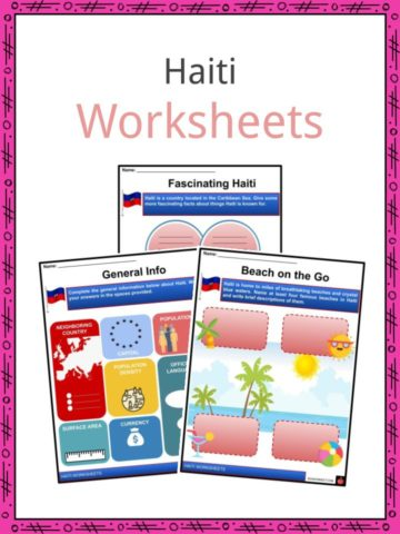 Haiti Worksheets