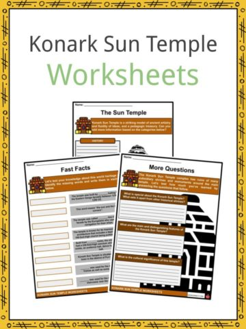 Konark Sun Temple Worksheets