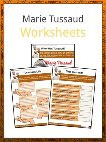 Marie Tussaud Worksheets