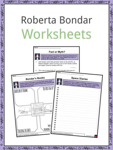 Roberta Bondar Worksheets