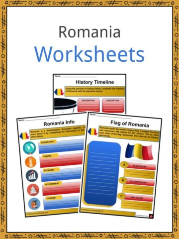Romania Worksheets