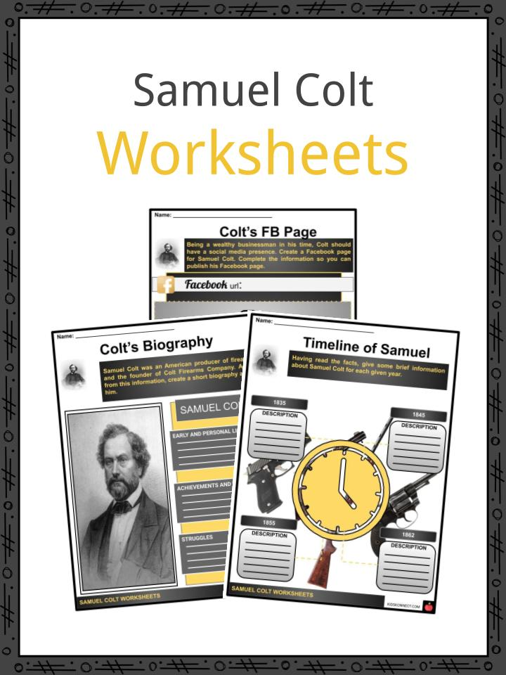 Samuel Colt Worksheets