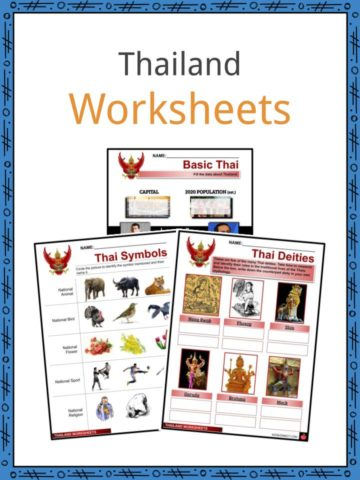 Thailand Worksheets