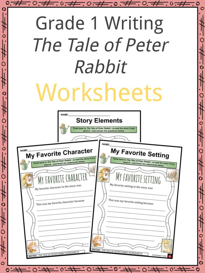 The Tale of Peter Rabbit Worksheets