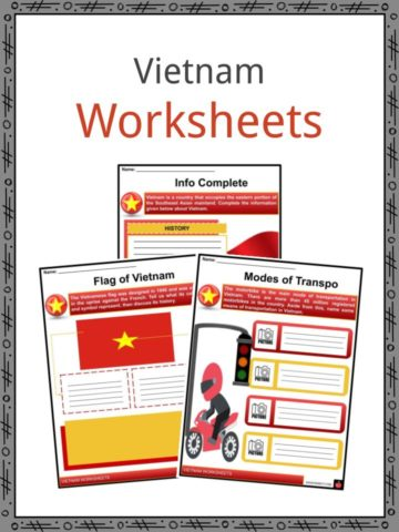 Vietnam Worksheets