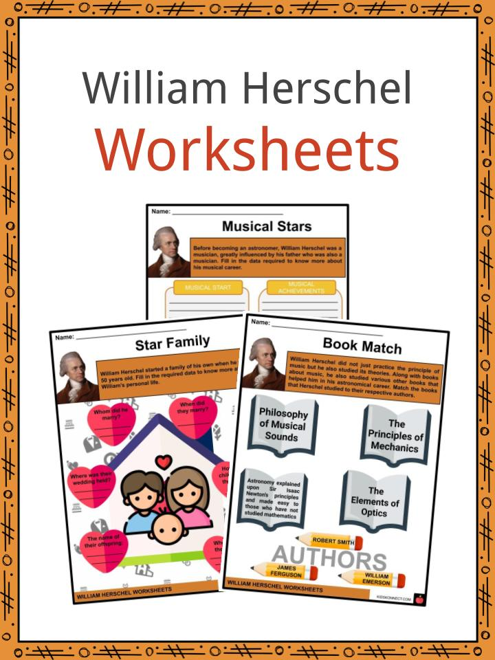 William Herschel Worksheets