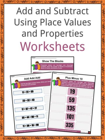Add and Subtract Using Place Values and Properties