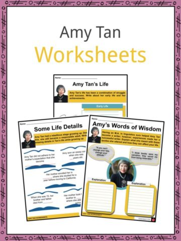 Amy Tan Worksheets