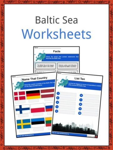 Baltic Sea Worksheets