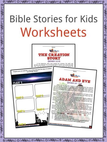 Bible Stories for Kids Worksheets