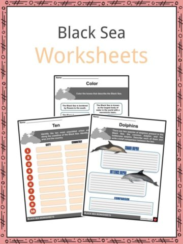 Black Sea Worksheets