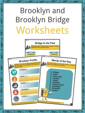 Brooklyn and Brooklyn Bridge Worksheets