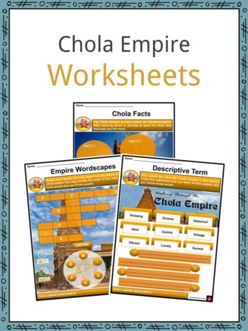 Chola Empire Worksheets