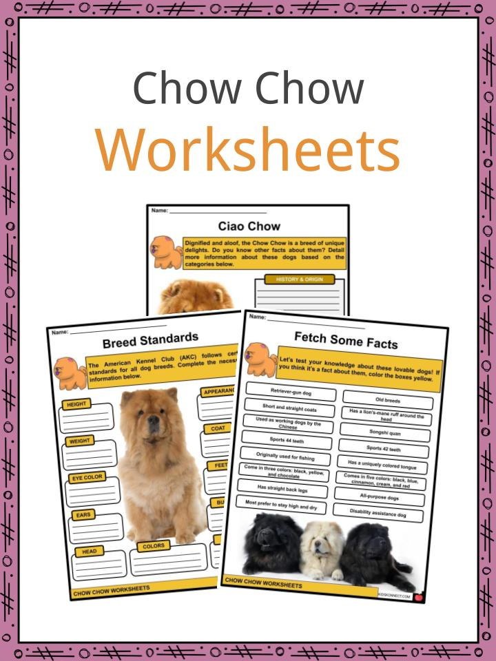Chow Chow Worksheets