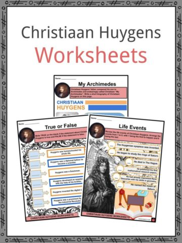 Christiaan Huygens Worksheets