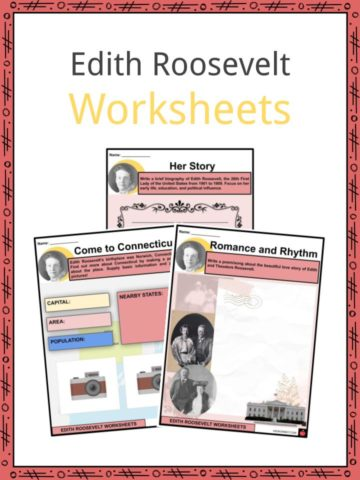 Edith Roosevelt Worksheets