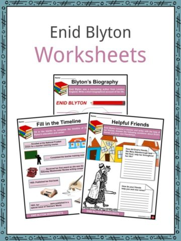 Enid Blyton Worksheets