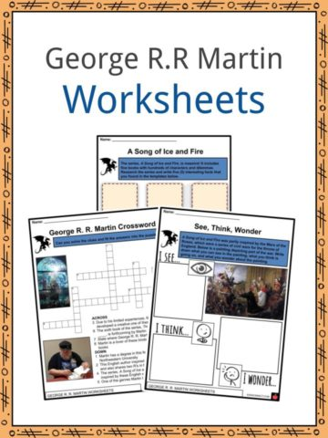 George R.R Martin Worksheets