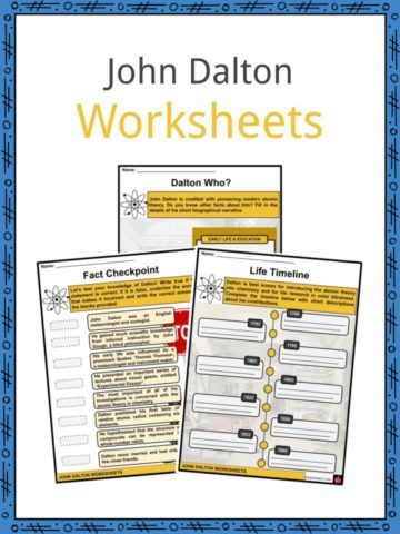 John Dalton Worksheets