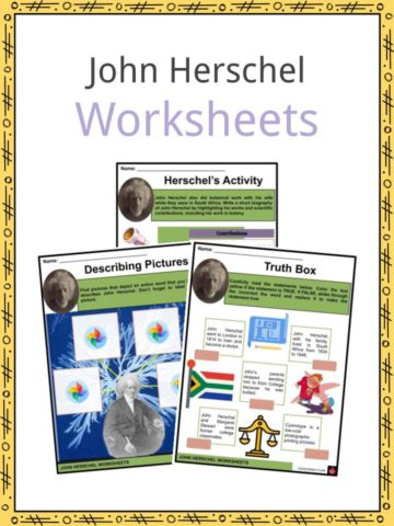 John Herschel Worksheets