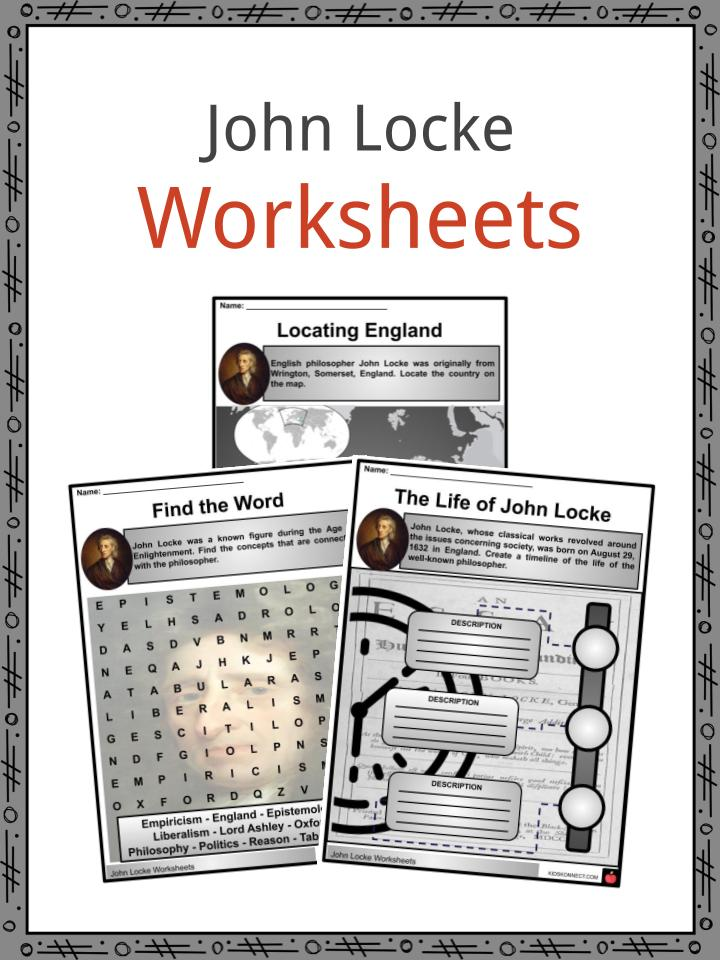 John Locke Worksheets