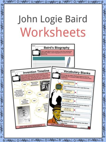 John Logie Baird Worksheets