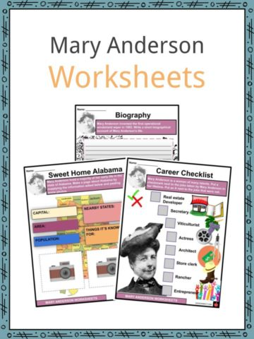 Mary Anderson Worksheets