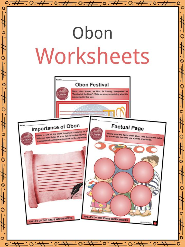Obon Worksheets