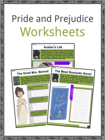 Pride and Prejudice Worksheets