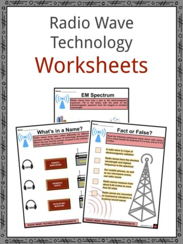 Radio Wave Technology Worksheets