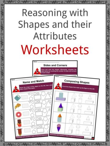 Reason with Shapes and their Attribtues Worksheets