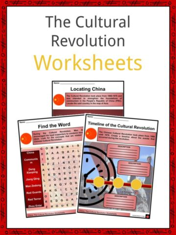 The Cultural Revolution Worksheets