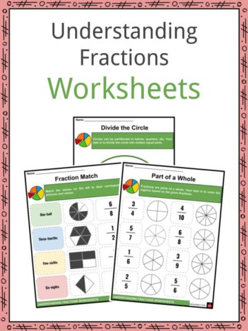Understanding Fractions Worksheets