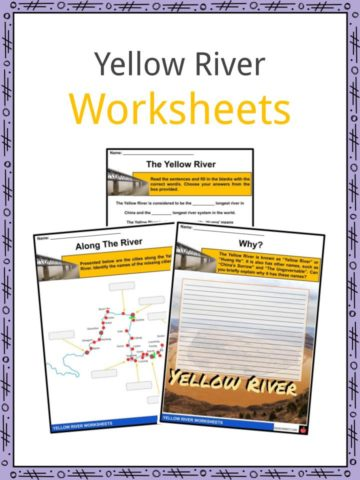 Yellow River Worksheets